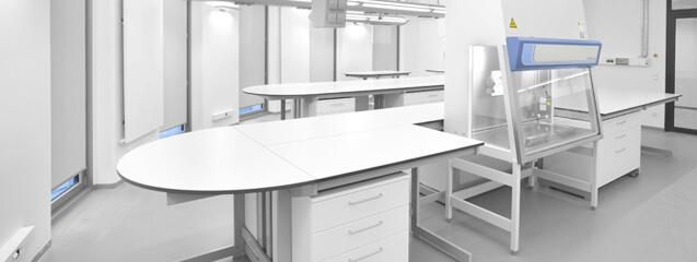 fabrication meuble laboratoire toplab