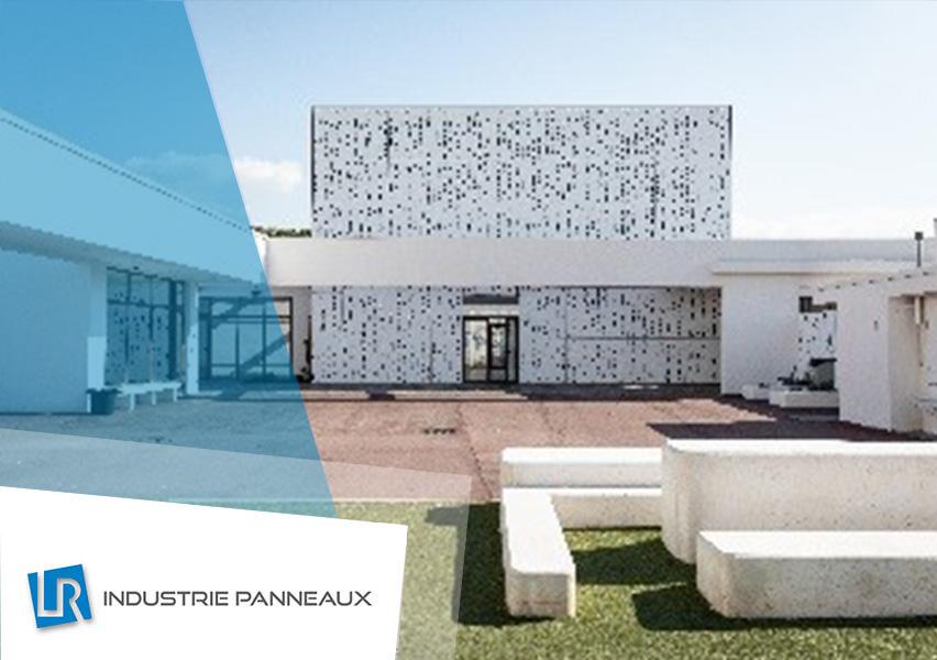 Façade bâtiment privé réalisation LR industrie