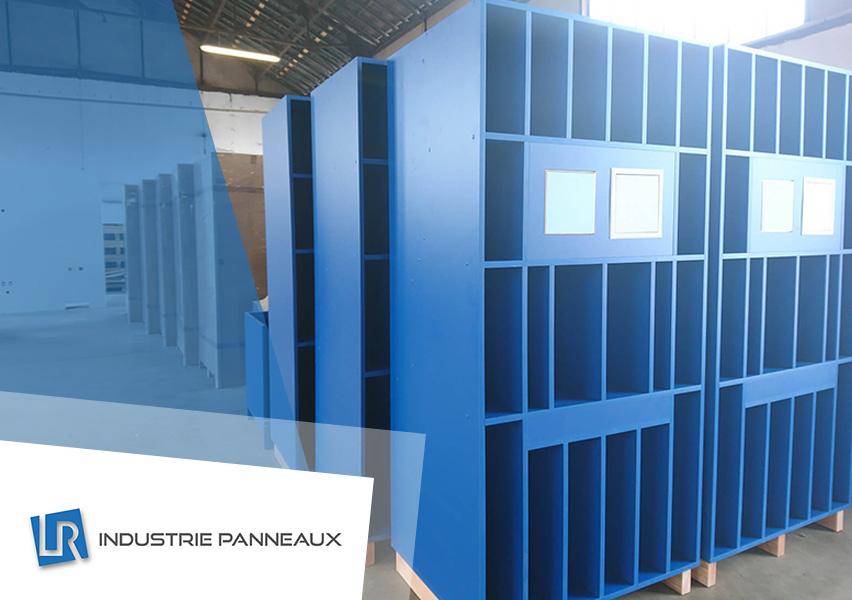 PLV réalisation LR industrie panneaux