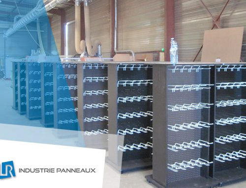 Meuble PLV pour un industriel du textile